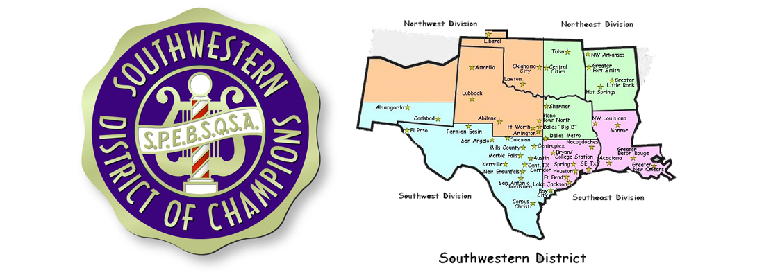 SWD Logo and Division Map