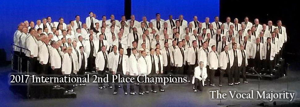 2017 International 2nd Place Chorus Champions - The Vocal Majority