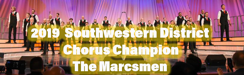 2019 Southwestern District Chorus Champion